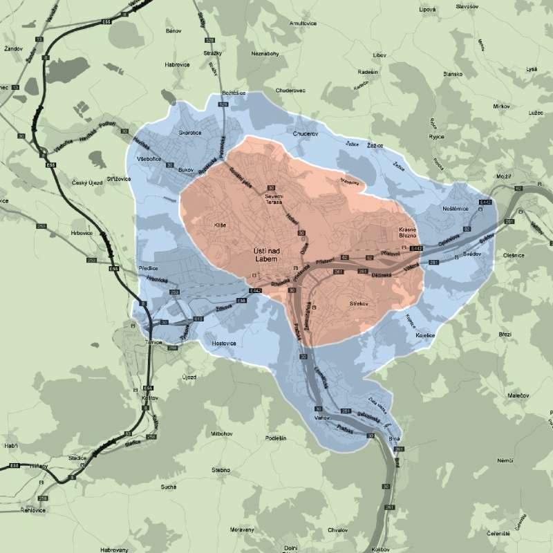 mapa dostupnosti